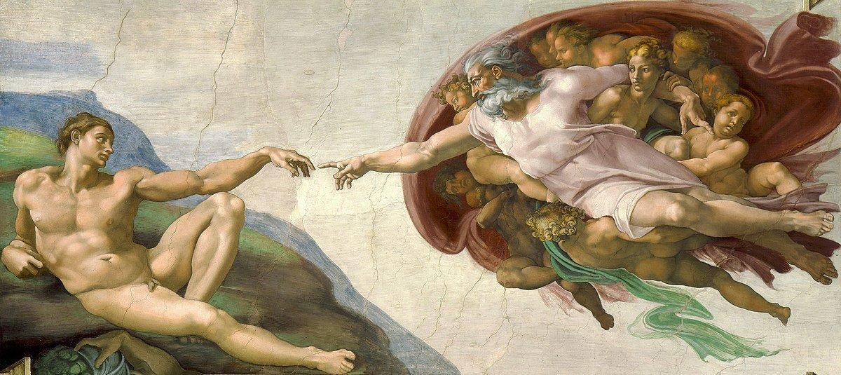 Ademin Yaratılışı Michelangelo