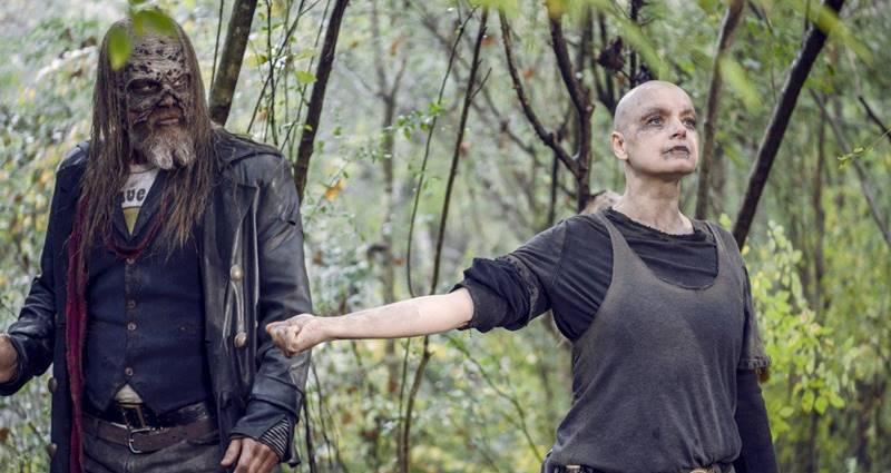 The Walking Dead 10 sezon karanlik